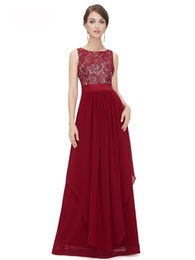 Chinese  Chiffon Maxi Dresses Elegant V neck Lace Embroidery Womens Sexy Maxi Solid Dress Sleeveless Deep V Neck Vestidos manufacturers