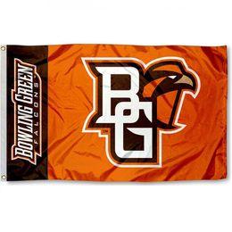 Team flags online shopping - BGSU team Falcons logo Flag