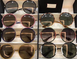 Brand Mosaic Canada - wholesale 0061 Men Women Luxury brand Sunglasses 0061s Square Frame Mosaic Shiny Crystal Colorful Diamond UV400 Lens g0061 With Original Box