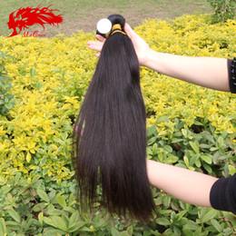 ali queen human hair 2019 - Wholesale-Burmese virgin hair straight 3pcs lot, Unprocessed human hair weave Ali queen hair products burmese straight v