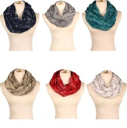 Muffler Neck Canada - women scarf musical notation printed scarves soft Neck Scarves Shawl autumn and winter scarf Muffler Scarves LJJK742