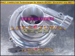 $enCountryForm.capitalKeyWord Australia - Wholesale RHC7 1-14400-2100 114400-2100 NH170048 Turbo Turbine Turbocharger For HITACHI EX200-1 Excavator Engine 6BD1T 6BD1-T