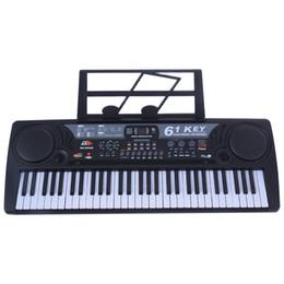 Music pianos online shopping - 61 Key Digital Music Electronic Keyboard Kids Electric Piano Organ Black