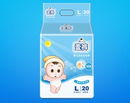 diapers stick Australia - Lowest Price 2019 Factory sale Wholesale Baby Diapers Economy Pack Three-demensional leakproof locks in urine Ultra-Thin and soft W17JS392
