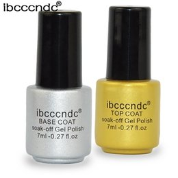 Mejores Uñas De Capa Base Baratos-2017 Ana Nail Gel Polish Remoje UV Base Coat gel Top Coat Bonder + uv top coat base Gel Polish Mejor Halloween Makeup