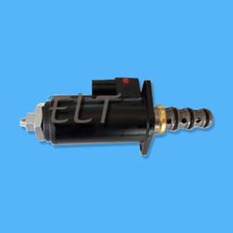Safety Parts NZ - Kobelco Excavator Spare Parts SK60SR-1E SK200-6E YT35V00013F1 Safety Lock Solenoid Valve KWE5K-31G24DA50