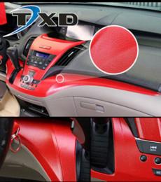 wrap car pvc film 2019 - Premium Leather Pattern PVC Adhesive Vinyl Film Stickers For Auto Car Body Internal Decoration Vinyl Wrap Car leather fi