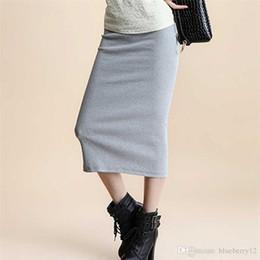 Discount Long Maxi Pencil Skirt | 2017 Black Long Maxi Pencil ...