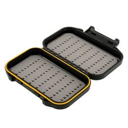 $enCountryForm.capitalKeyWord NZ - Case For Fishing Box Waterproof Foam Plastic Bait Hook Spoon Storage Compartment Carp Fishing Tackle Box Fishing Accessories Box Black