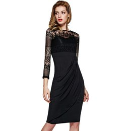 $enCountryForm.capitalKeyWord Canada - Hot Sale Wholesale Womans Clothes 2017 New Arrivals Long Sleeve Black Dresses Women Girls Casual Outfit