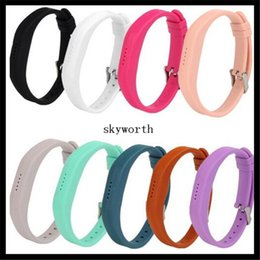 Track days online shopping - Soft Sport Silicone Wrist Strap Watchband For Fitbit Flex All Day Activity Smart Track Fitness Wristband No Tracker
