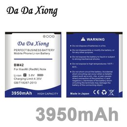xiaomi hongmi battery UK - Da Da Xiong 3950mAh BM42 Battery for XiaoMi Redmi Hongmi Note 4G