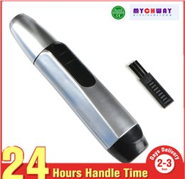 trimming hair home Australia - Electric Nose Ear Face Hair Removal Trimmer Shaver Clipper Cleaner Nose Hair Remover Tool Home Use