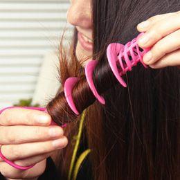 $enCountryForm.capitalKeyWord Australia - 2pcs set 2017 Fashion Hair Styling Tools Not Hurt Hair Curlers Magical Big Wave Curls Rollers random