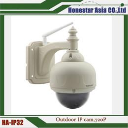Großhandel IP-Kamera mit Bewegungserkennung 720P wasserdichte drahtlose IP-Kamera für den Außenbereich 22 LED-Leuchten IR-Abstand 15 m