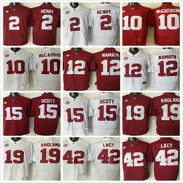 ... patch embroidered ncaa jersey emillia sweden alabama crimson tide 42  eddie lacy white with silver logo college jersey crimson tide 42 ... 49fe82c56