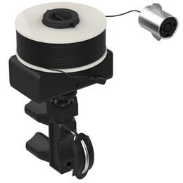 Çizgi Tekerlek Tipi Görsel Balık Bulucu Kızılötesi Sualtı Kamera ile 30 metre Cep Telefonu WIFI Bağlantısı Evrensel Braketi