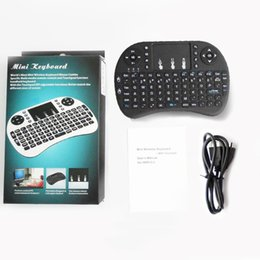 $enCountryForm.capitalKeyWord UK - Rii Air Mouse Wireless Handheld Keyboard Mini I8 2.4GHz Touchpad Remote Control For MX CS918 MXIII M8 TV BOX Game Play Tablet Mini PC DHL