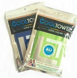 nouveau Cooling Towel Exercice Sweat Summer Sports Glace Cool Serviette PVA Hypothermie sportsTowel Restez cool avec l'Hyper-Absorbant avancée