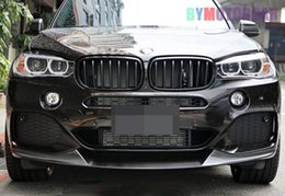 $enCountryForm.capitalKeyWord Australia - Car surrounded Real FRP P Style Front Lip Spoiler F15 X5M Fit For BMW B173F