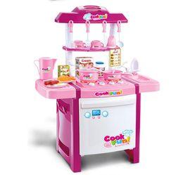 Pink Play Kitchen Set discount pink toy kitchen set | 2017 pink toy kitchen set on sale