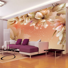 large paper rolls Australia - papel de parede Photo Wall Paper Roll Tv Background silk cloth 3d Wallpaper Seamless Large Wall Mural Papel De Parede