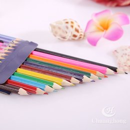PrettyBaby Wooden Colored Pencils For Coloring Books Secret Garden Crayon Painting Pen Drawing Pencil Supplies 12 Colors In Stock