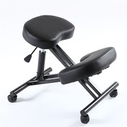 $enCountryForm.capitalKeyWord NZ - Ergonomic Kneeling Chair Adjustable Stool With Caster &Thick Comfortable Cushion Knee Office Chair For Home and Office Posture Support