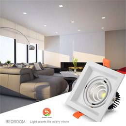 FREE SHIPPING 115W COB LED Ceiling Light AC110V AC220V 240V Downlight Spotlights Interior Decoration Recessed