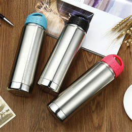 $enCountryForm.capitalKeyWord Canada - New BOBOROOM Portable 650ml Stainless Steel Outdoor Sport Vacuum Insulated Thermos Travel Bottle Leak Proof Keeps Your Drink Hot & Cold