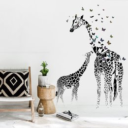 Creative DIY 3D Wall Sticker Horse For Kids Room Carved Removable  Kindergarten Stickers Black Zebra Butterfly Pvc Decorating 2017 Wholesale Part 54