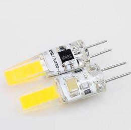 G4 Energy Saving Bulb Australia - Energy-saving Crystal Lamp Bulb G4 COB 1505 LED Silicone 360 Beam Angle Candle Lamp Bulb Crystal Chandelier Lighting 12V Corn Bulb