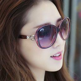 314c387ac33 Wholesale- IVE Brand Sunglasses Women Brand Designer Elegant Cat Eye Female  Korean Style Oculos De Sol Feminino Shades 9535