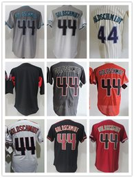 Baseball Arizona Canada - Wholesale Arizona jerseys 44 Paul Goldschmidt Men's baseball jerseys coolbase jersey Embroidery and 100% Stitched free shipping