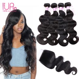 Discount beauty supply wholesale weave hair 2017 beauty supply beauty supply mink brazilian human hair weave with closures straight brazilian hair with closure 4 bundles brazilian body wave with closure beauty supply pmusecretfo Images