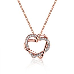 5c93cf84ff952 women Necklaces Wholesale Nickle Free Antiallergic Jewelry Valentine Ideal  Gift For Girl Friend. GBP £9.88 - 11.77   Piece. I Love You More Heart  Necklace ...