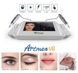 Wholesale 2017 Intellegent Artmex V8 Tattoo Permanent Makeup Machine Touch Screen pens PMU