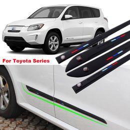 $enCountryForm.capitalKeyWord Canada - Car-styling For Toyota Series 4pcs High-quality Anti-rub Body Side Door Rubber Decoration Strips Anticollision Strips