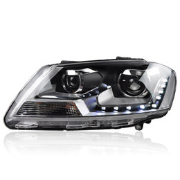 headlamp assemblies 2021 - FOR Longding dedicated to the new Lavida xenon dual lens LED with modified headlamps assembly 12-14