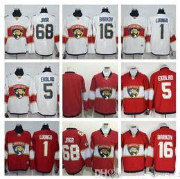... reebok white premier player jersey florida panthers 68 jaromir jagr ice  hockey jerseys cb4589202