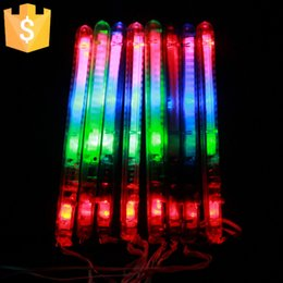 Wholesale Button Battery Multi Colorful modes Flashing LED Night Light Wand Glow Sticks Strap Camp for Party Event