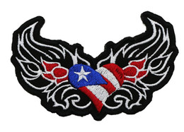 Wholesale Top Quality COOLEST AMERICAN HEART DOUBLE WING MOTORCYCLE CLUB VEST OUTLAW BIKER MC COLORS PATCH