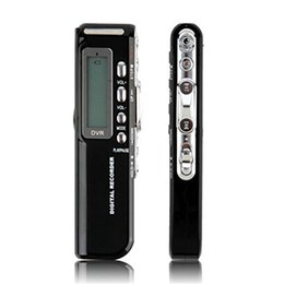 Voice Activated Audio Digital NZ - Wholesale-8GB Digital Voice Recorder Voice Activated USB Pen Digital Audio Voice Recorder Dictaphone MP3 Player Black Drop Free shipping