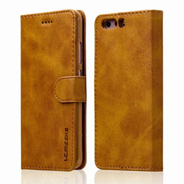Chinese  For Huawei P10 Plus P9 Wallet Litchi Leather Soft TPU Phone Cover Case Card Slots Holder Pocket Pouch Flip Stand For OPPO R9s VIVO X9Plus manufacturers