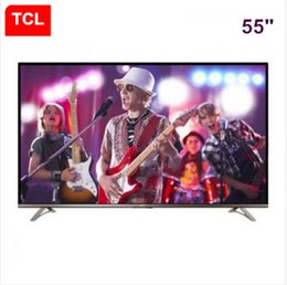 TCL 55-inch ultra-high clear flat screen TV WeChat Interconnection built-in WiFi 4K Android Smart Cloud LED Free shipping! Tvs 55 Online Shopping | Tv for Sale