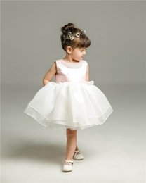 2017 summer clothing for newborns baby girls princess dresses wedding christening party first birthday party toddler dress 9141