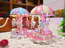 $enCountryForm.capitalKeyWord Canada - Music box merry-go-round romantic LED Merry-Go-Round gifts musical carousels box with light
