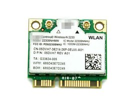 laptop mini card Canada - Wholesale- Wireless-N 2230 2230BN 2230BNHMW Half Mini PCI-e 300Mbps+Bluetooth4.0 Wireless Card