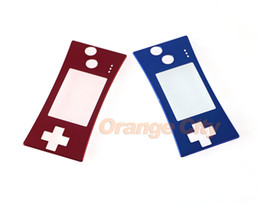 $enCountryForm.capitalKeyWord NZ - Red Blue For GameBoy Micro Replacement Front Faceplate Cover for GBM System Upper Panel Case