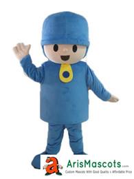 Eva Costumes Canada - AM0291 Pocoyo Mascot costume party costumes EVA foam mascot fur mascot advertising